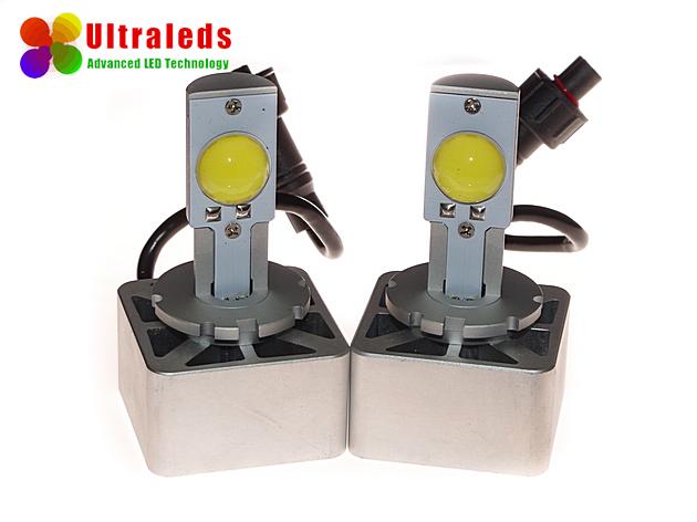 Super jasny zestaw  LED zastepujących palniki ksenonowe